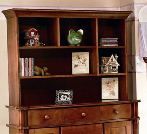 Sorelle Furniture Regal Combo Hutch - Autumn
