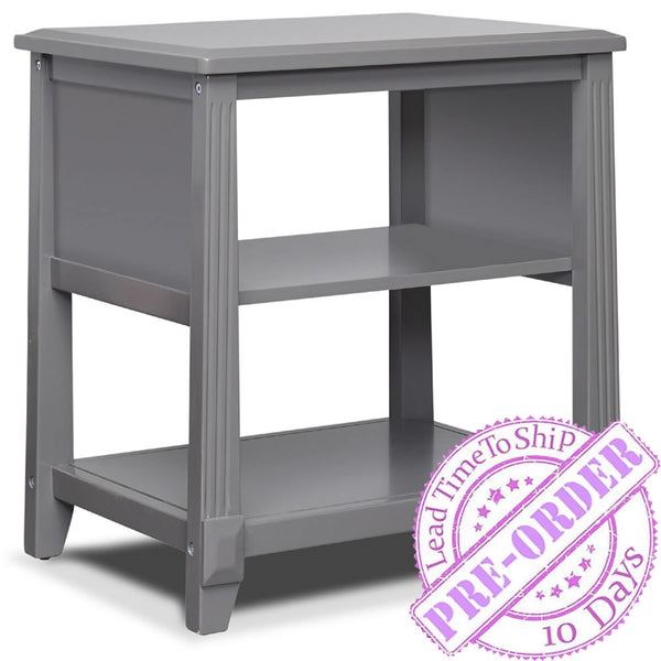 Sorelle Furniture Berkley Nightstand - Gray