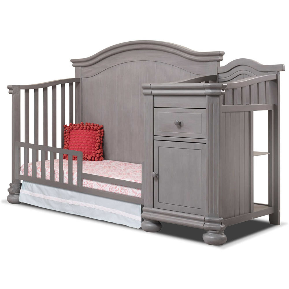 Sorelle Furniture Finley Crib Amp Changer In Weathered Gray
