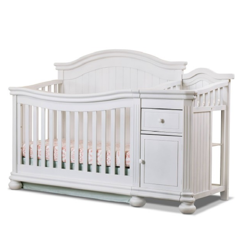 Sorelle Furniture Finley Crib & Changer in White