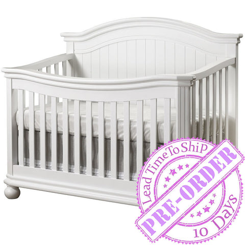 Sorelle Furniture Finley 4 in 1 Crib - White