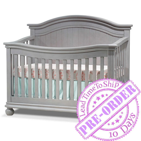 Sorelle Furniture Finley 4 in 1 Crib - Stone Gray