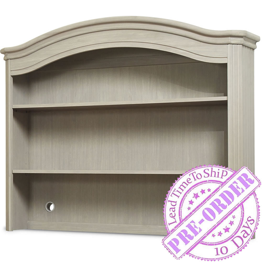 Sorelle Furniture Finley Hutch - Heritage Fog