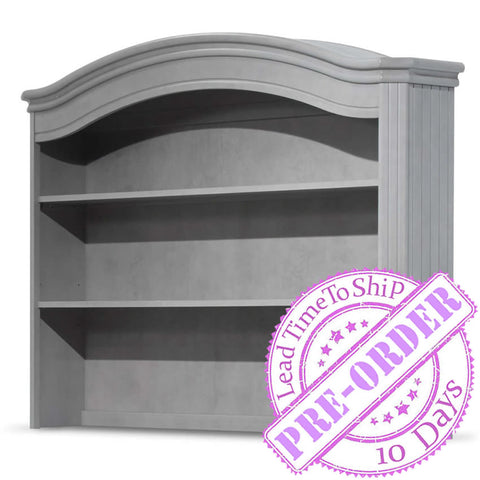 Sorelle Furniture Finley Hutch - Stone Gray