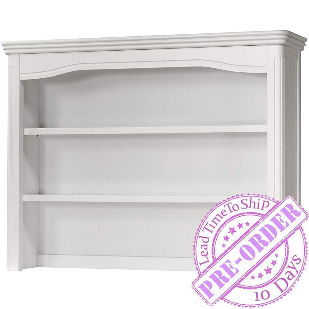 Lusso Nursery Vicenza Hutch - White