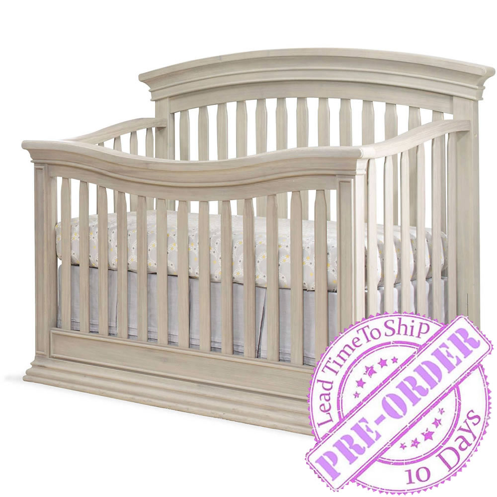 Sorelle Furniture Monterey Convertible Crib - Heritage Fog