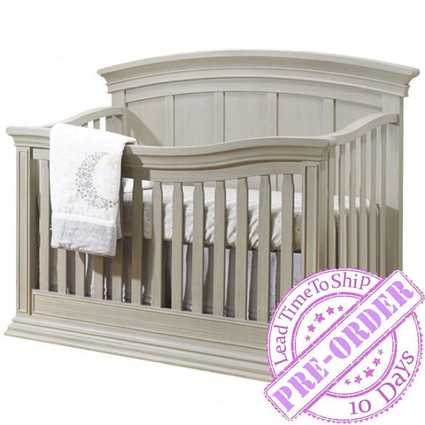 Sorelle Furniture Monterey Panel Convertible Crib - Heritage Fog
