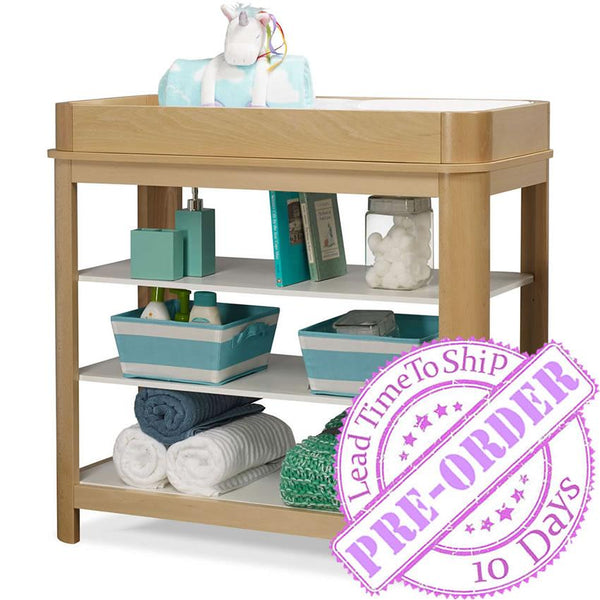 Sorelle Furniture Cortina Dressing Table - Natural