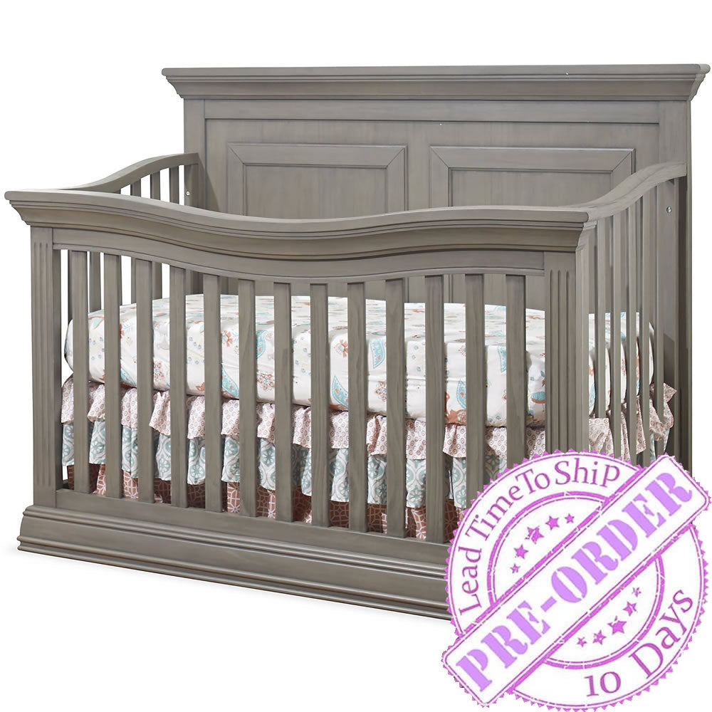 Sorelle Furniture Paxton Convertible Crib - Heritage Gray