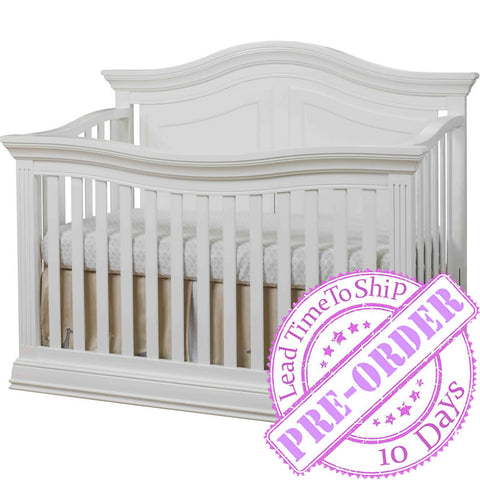 Sorelle Furniture Providence 4 in 1 Crib - White