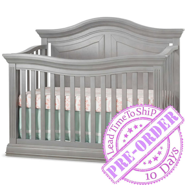 Sorelle Furniture Providence 4 in 1 Crib - Stone Gray