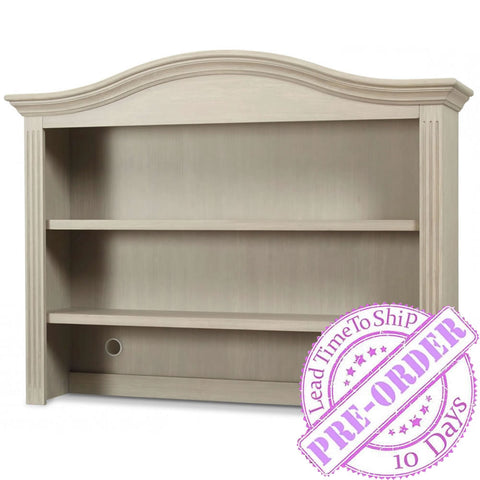 Sorelle Furniture Providence Hutch - Heritage Fog