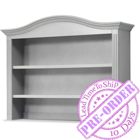 Sorelle Furniture Providence Hutch - Stone Gray