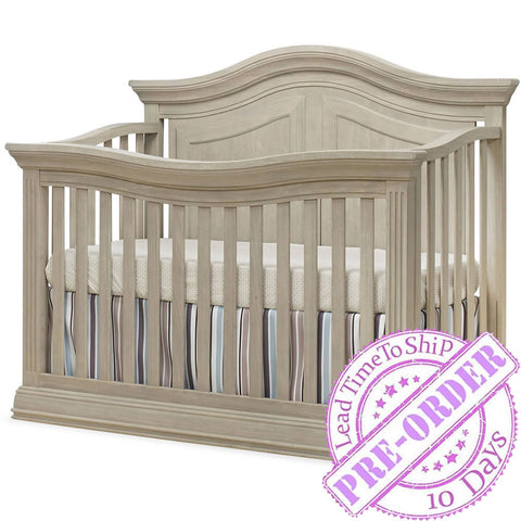 Sorelle Furniture Providence 4 in 1 Crib - Heritage Fog