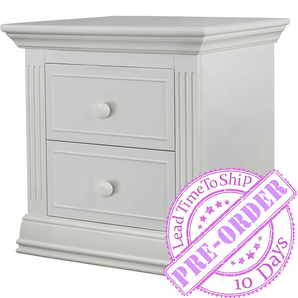 Sorelle Furniture Providence Nightstand - White