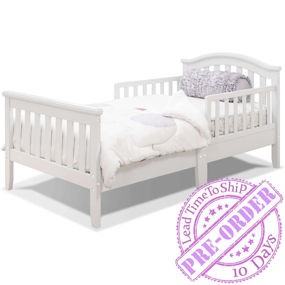 Sorelle Furniture Verona Toddler Bed - White