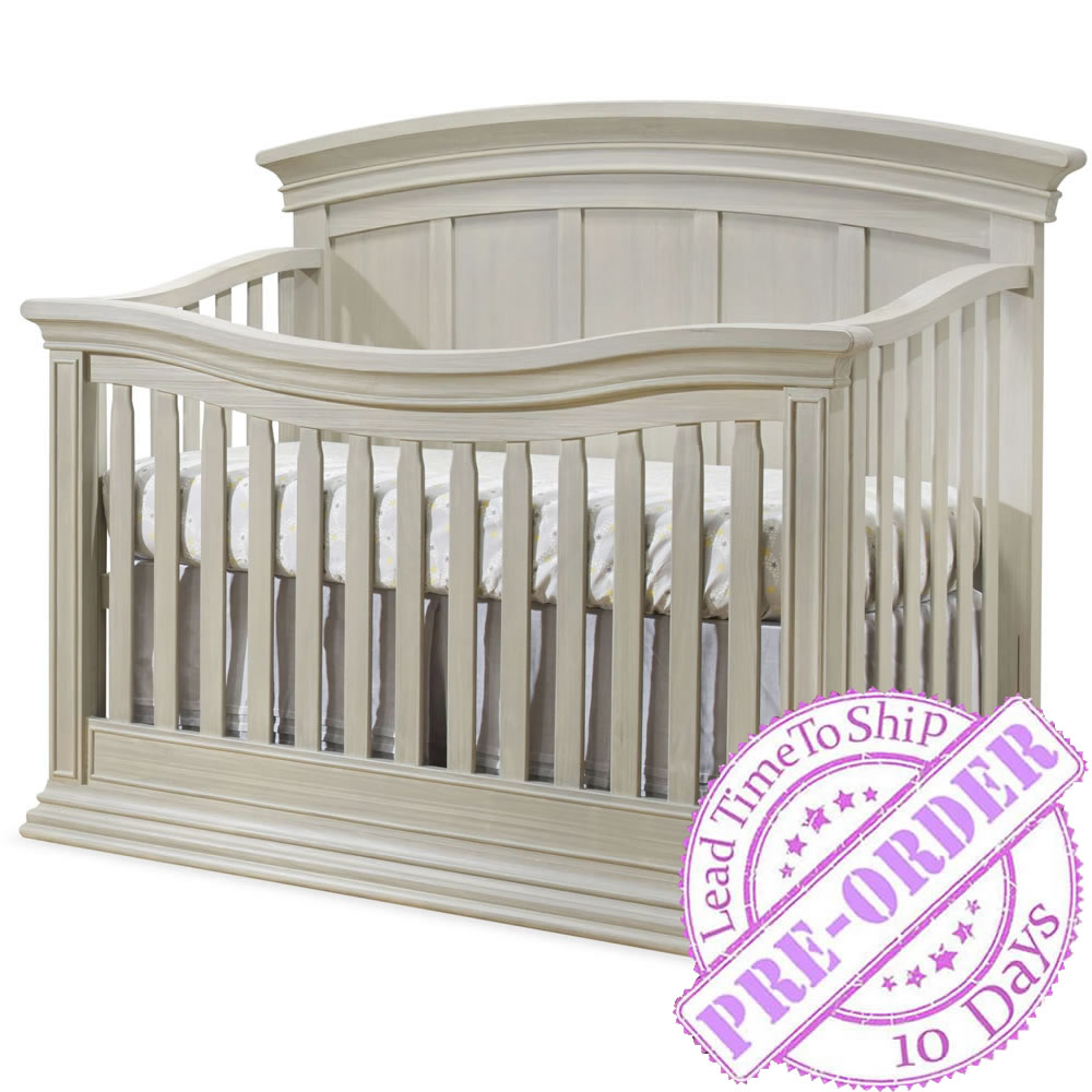 Sorelle Furniture Verona Convertible Crib - Heritage Fog