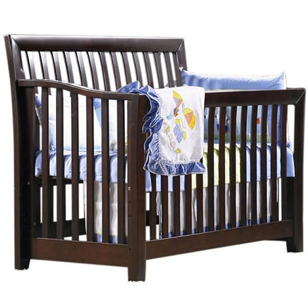sorelle furniture gia 4in1 convertible crib espresso - Sorelle Cribs