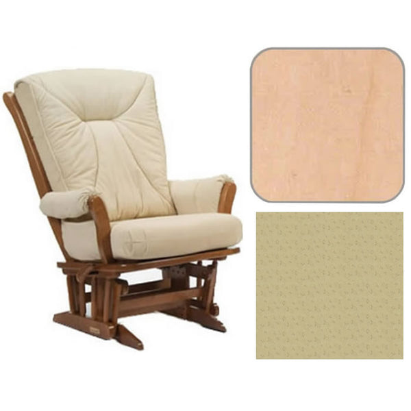 Dutailier Grand Chair Multiposition Reclining 912 Glider in Natural W/Cushion 4030