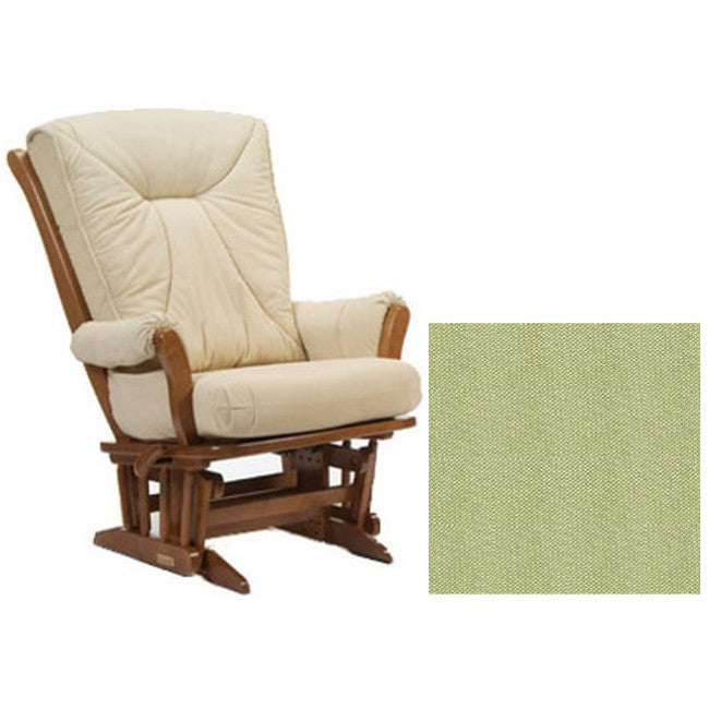 Dutailier Grand Chair Multiposition Reclining 912 Glider in Harvest W/Cushion 0496