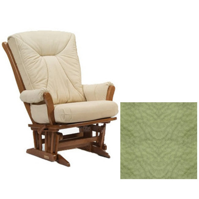 Dutailier Grand Chair Multiposition Reclining 912 Glider in Harvest W/Cushion 4088