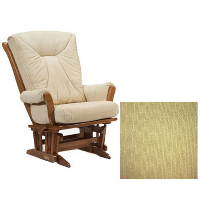 Dutailier Grand Chair Multiposition Reclining 912 Glider in Harvest W/Cushion 5115