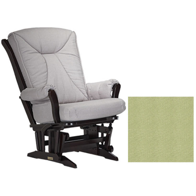 Dutailier Grand Chair Multiposition Reclining 912 Glider in Espresso W/Cushion 0496