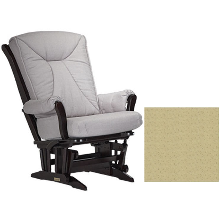 Dutailier Grand Chair Multiposition Reclining 912 Glider in Espresso W/Cushion 4030