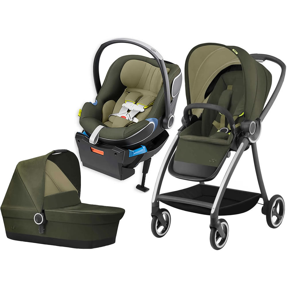 GB 3 in 1 Maris Stroller - Lizard Khaki