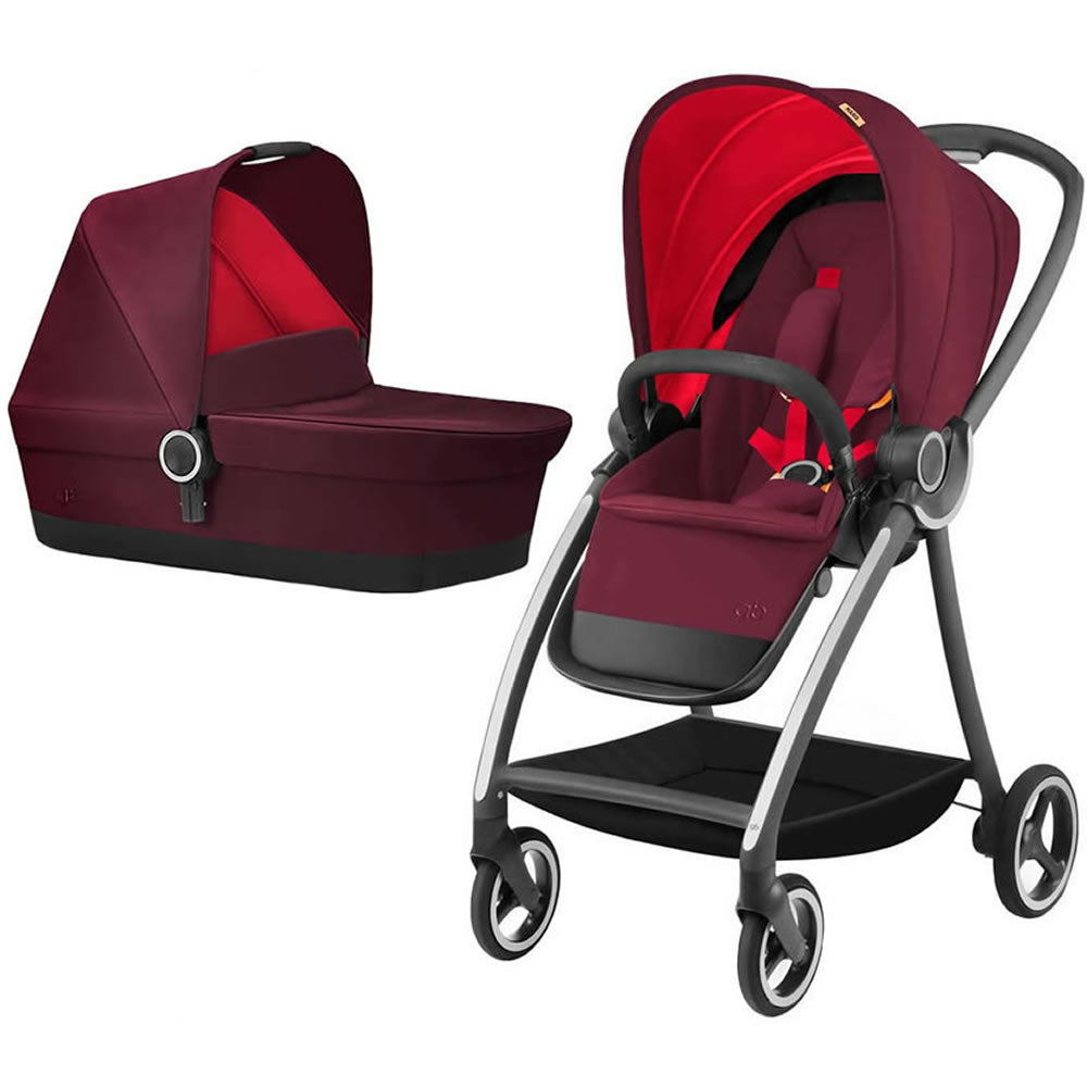 GB Maris Stroller with CarryCot - Dragonfire Red
