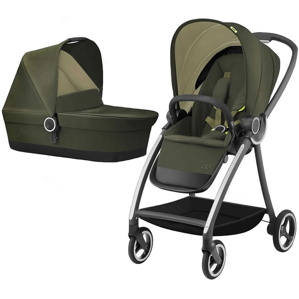 GB Maris Stroller with CarryCot - Lizard Khaki