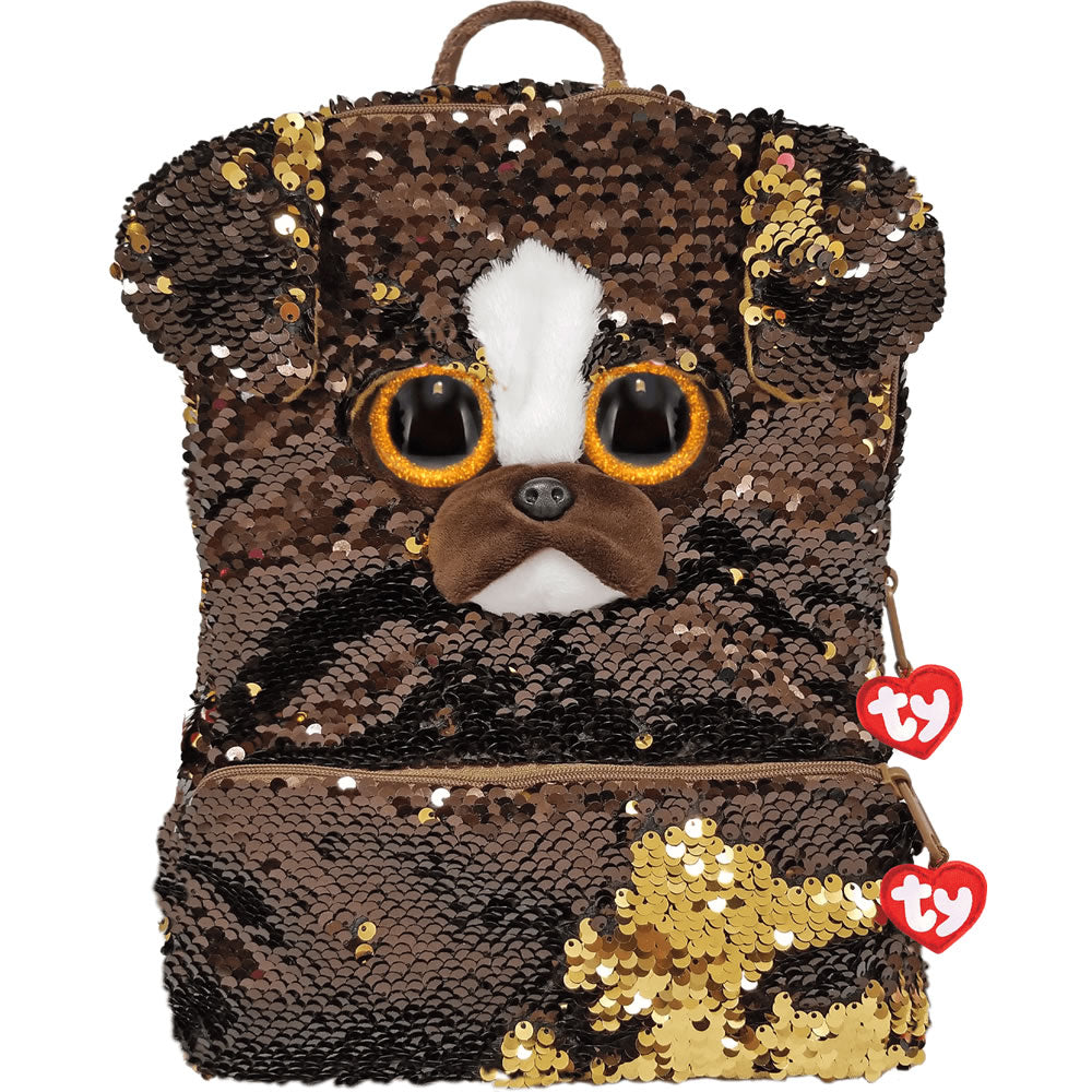 Ty Fashion Sequin Backpack - Brutus