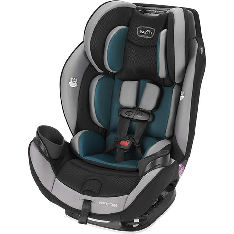 Evenflo EveryStage DLX All-in-One Convertible Car Seat, Reefs