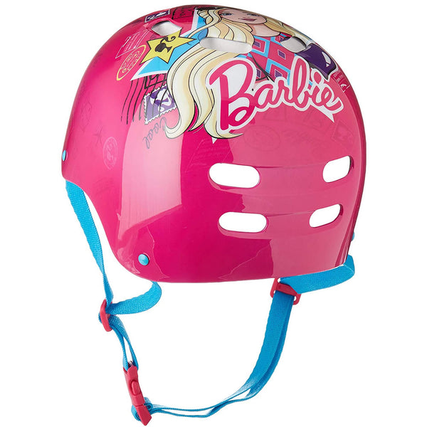Barbie Pink Kids Bike Helmet