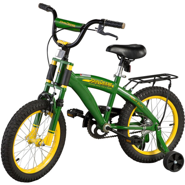 "Tomy John Deere 16"" Boys Bicycle, Green"
