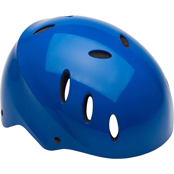 Mongoose Street Youth Bike Helmet - Blue
