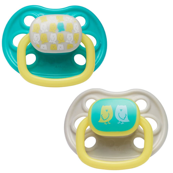 The First Years Orthodontic Pacifier Stage 3, Owl Design - 2 Count