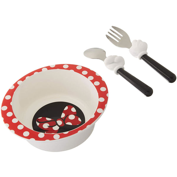 Disney Mealtime 3 Piece Set, Minnie Mouse