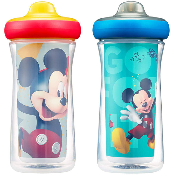 The First Years Disney Insulated Hard Spout Sippy Cups - Mickey Mouse