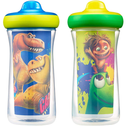 The First Years Disney/Pixar Insulated Hard Spout Sippy Cups - The Good Dinosaur
