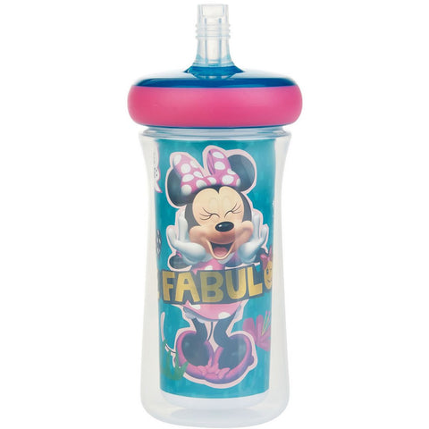Disney Insulated Straw Cup 9 Oz, Minnie Mouse