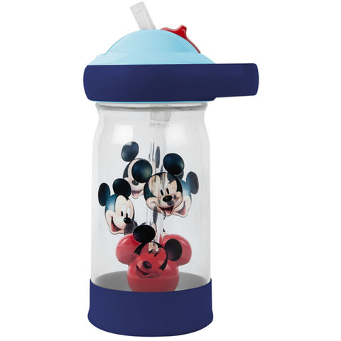 Disney Mickey Mouse Sip & See Water Bottle 12oz