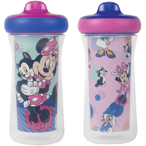 Disney Minnie Mouse Insulated Sippy Cup 9 Oz - 2pk