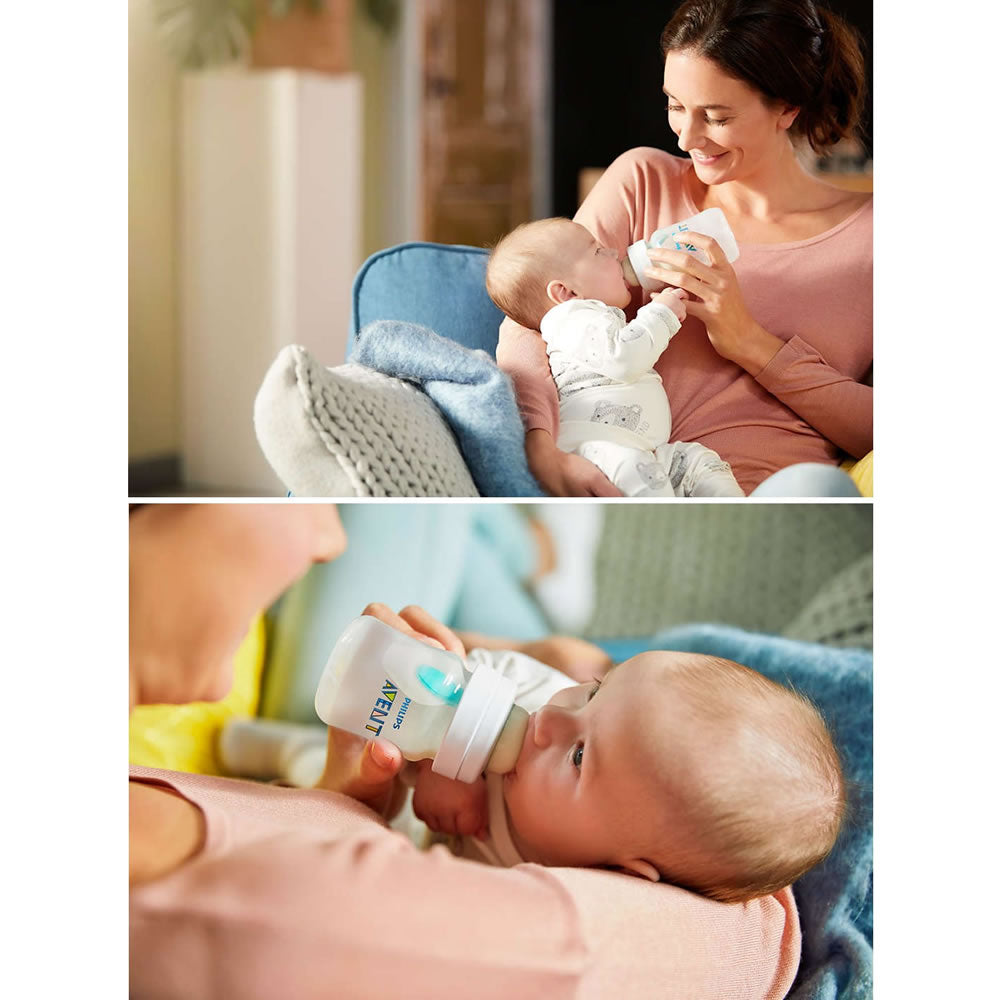 Philips AVENT 9oz Anti-Colic Bottles with AirFree Vent, Pink