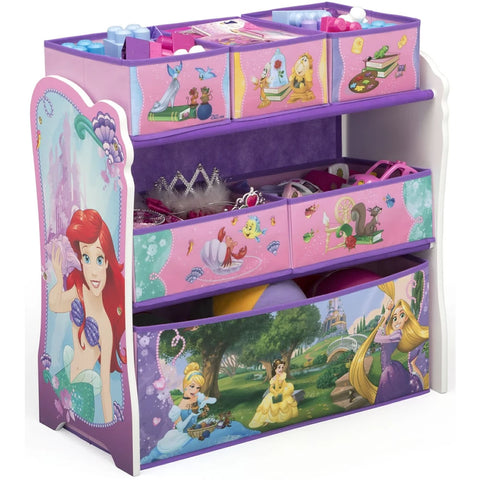 Delta Children Princess Multi-Bin Toy Organizer