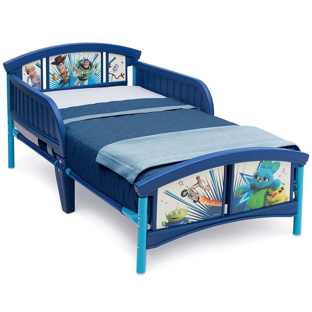 Delta Children Plastic Toddler Bed, Pixar Toy Story 4
