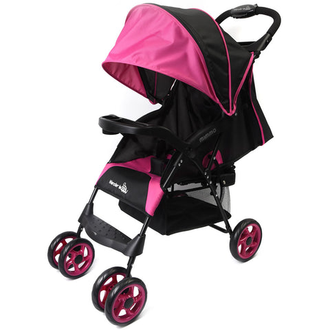 Wonder Buggy Mimmo Ultralight Stroller, Pink