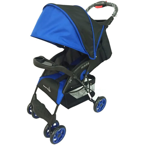 Wonder Buggy Mimmo Ultralight Stroller, Royal Blue