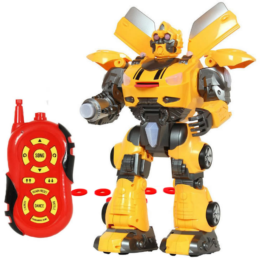 Tyrant Wasp Multi-Function Remote Control Robot - Yellow