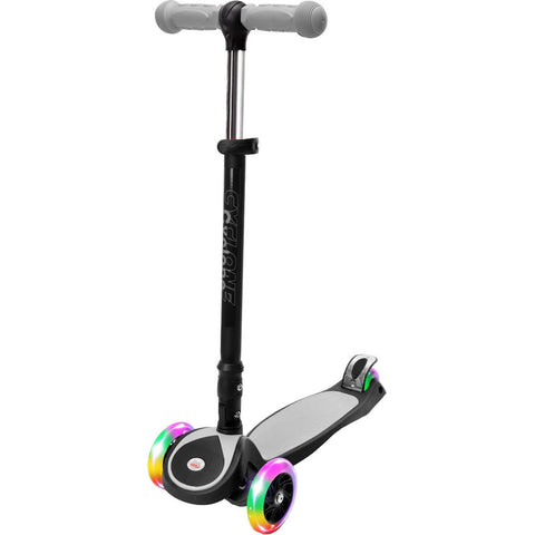Chrome Wheels Cyclone Glidekick Foldable Scooter, Gray